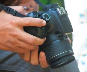 camara de video semiprofesional