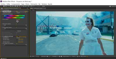 correccion de color en after effects