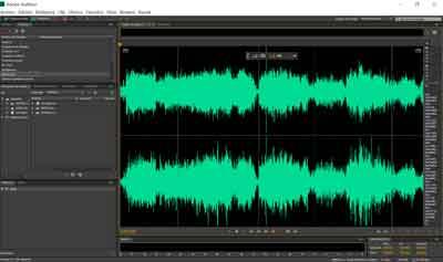 edicion de audio en adobe audition