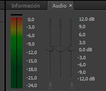 como poner y escuchar el audio en after effects