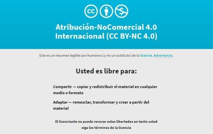 licencia cc-by-nc