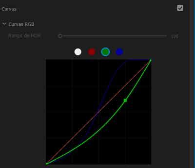 curvas rgb para etalonaje