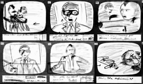 storyboard taxi driver