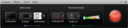 grabar pantalla del pc con camtasia