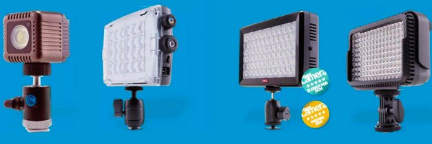 antorcha led fotografia video
