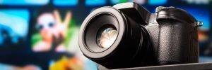 camara de video 4k profesional