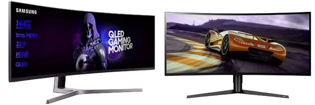 mejores monitores curvos para pc