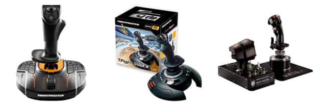 joystick para pc simulador de vuelo