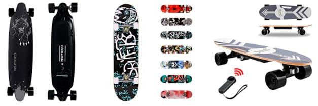 skateboard electrico barato