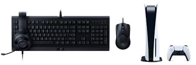 teclado y raton para ps5